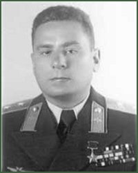 Portrait of Lieutenant-General of Aviation Aleksandr Stepanovich Osipenko
